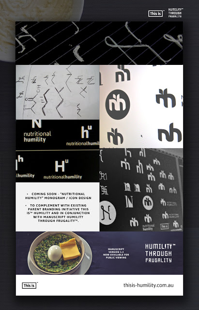 Coming soon : Nutritional Humility visual identity